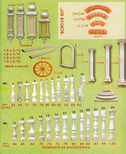 Купить Балюстрады, колонны, тумбы, перила