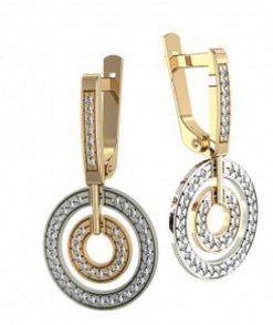 Купить Золото в Молдове, Серьги женские 0501210