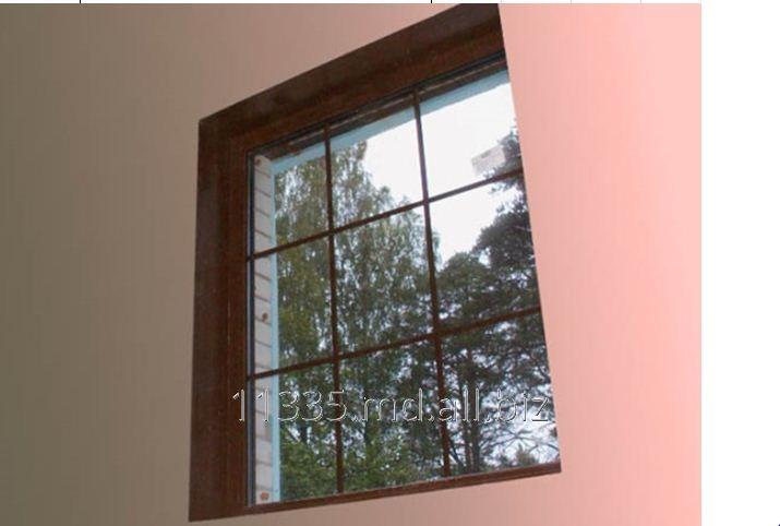 Купить Окно с коричневым декором Inventproiect
