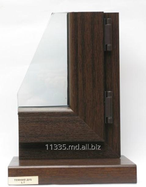 Купить Пластиковое окно тёмный дуб Inventproiect