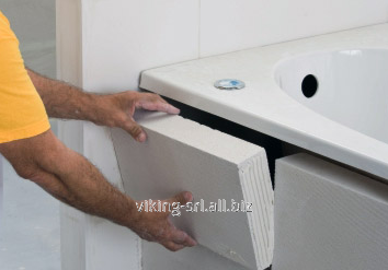 Buy Partitions for a bathroom, Thin blocks from an autoclave gas concrete