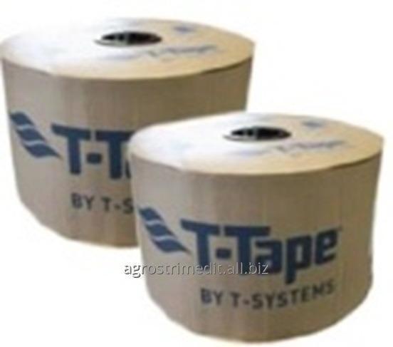 Капельная лента T-TAPE, 6 mil, 10-1350, 20-380, 20-500, 30-250, 30-340, 3050 m.