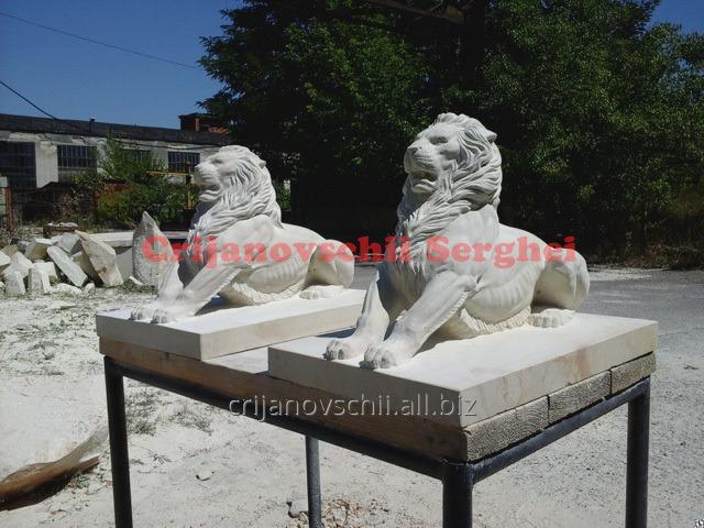 Каменные львы. Скульптура