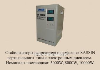 Buy Voltage stabilizer of SASSIN SVC 10000 VA (v)