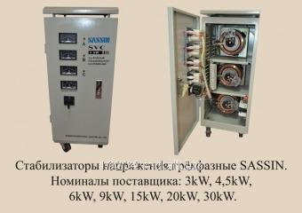 Купить Стабилизатор напряжения SASSIN SVC 6 KVA