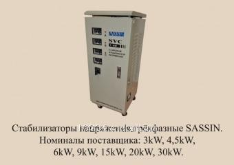 Buy Voltage stabilizer of SASSIN SVC 9 KVA