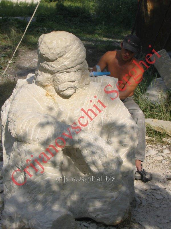 Скульптура 2003 год, одна из первых работ