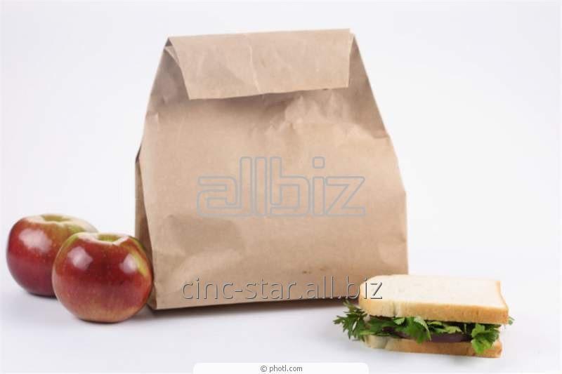 Купить Бумажные пакеты для продуктов питания