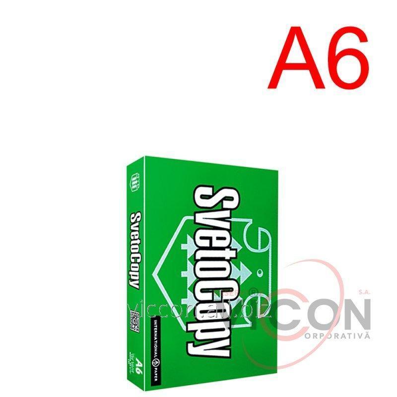 Купить COPY PAPER - БУМАГА ДЛЯ ПРИНТЕРА А6, 500 листов, 80 гр/м2, 105 х 148 мм