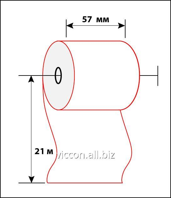 Buy Check tape of 57 mm 21 m BAC-57-21