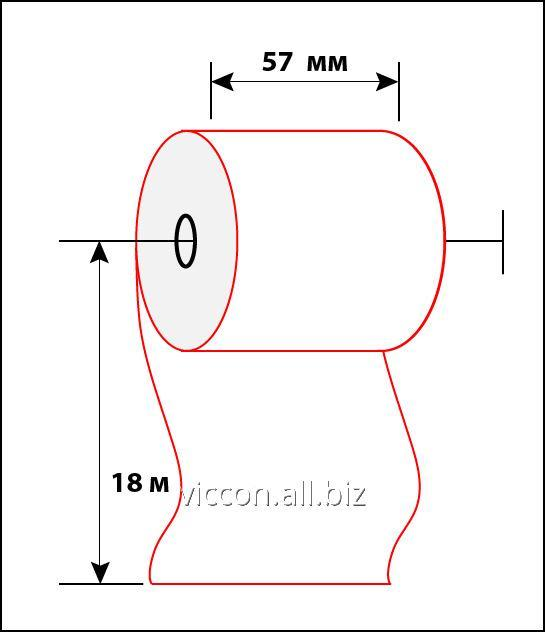 Buy Check tape of 57 mm 18 m BAC-57-18