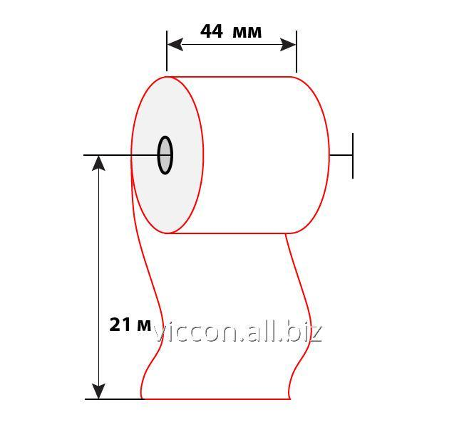 Купить Чековая лента 44 мм (21м)