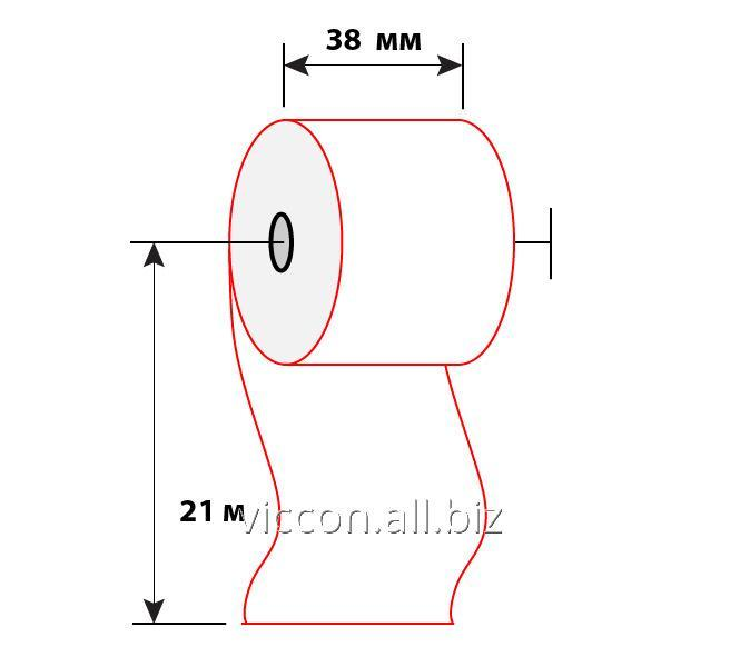Купить Чековая лента 38 мм (21м)