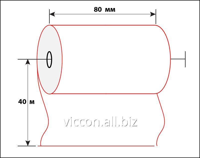 Buy Check tape of 80 mm 40 m BAC-80-40