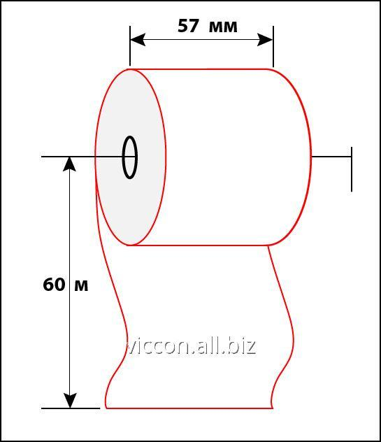Buy Check tape of 57 mm 60 m BAC-57-60