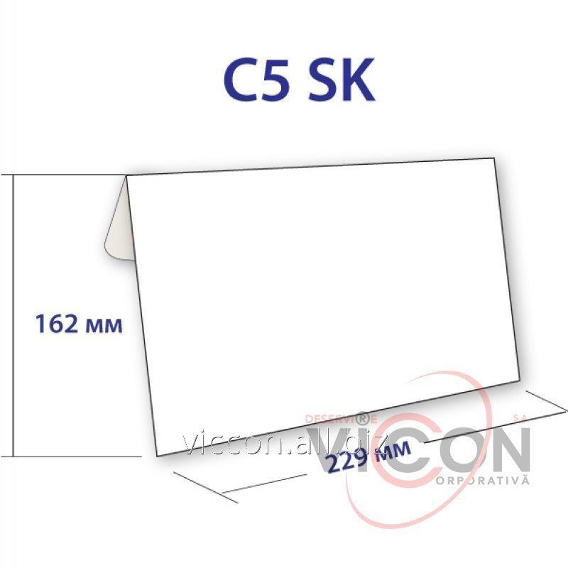 Купить Конверт C5, на самоклейке, 162 х 229 мм, белый