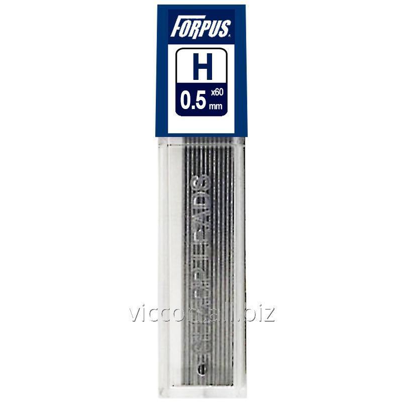 Купить Грифеля для механического карандаша FORPUS, 0.5 mm, H
