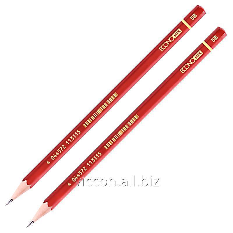 Buy Black lead pencil 5b, economix E11311