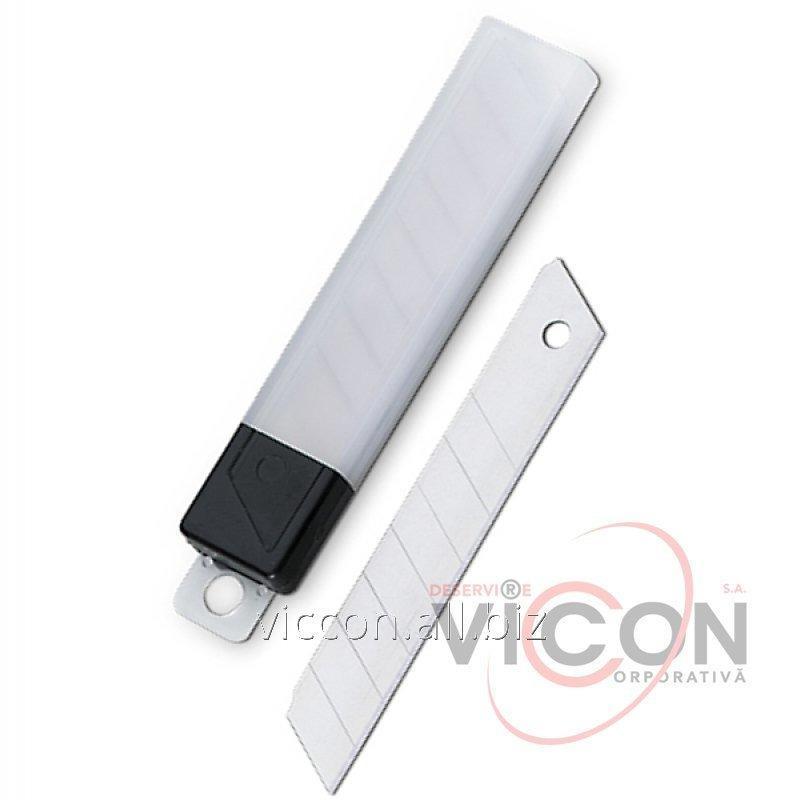 Купить Сменные лезвия для больших ножей, 18 мм, Economix 40516, 10 шт./уп.