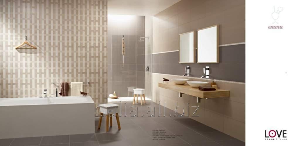 Купить Плитка керамическая Love ceramica Deluxe для ванной комнаты