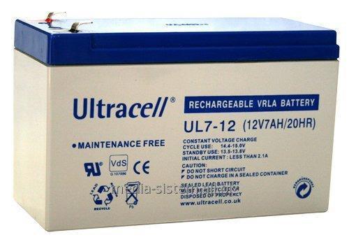 Купить Аккумулятор, UltraCell UL 7-12 (12V7AH 20HR)