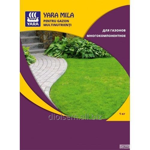 Купить Удобрение Yara Mila для газонов многокомпонентное 1кг