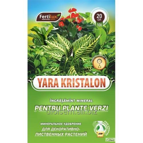 Купить Удобрение Kristalon для Декоративно-Лиственных Растений 20г