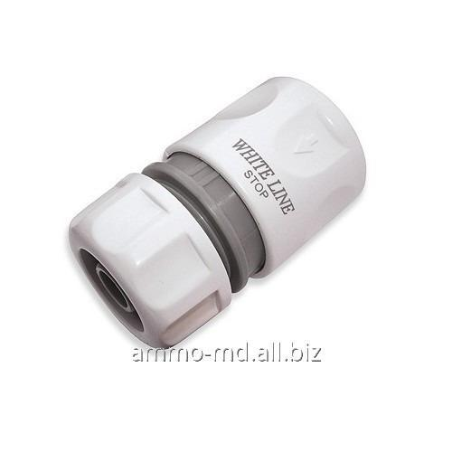 Buy Connector (hose nozzle) with a self-locking device 3/4 - White Line WL-2150