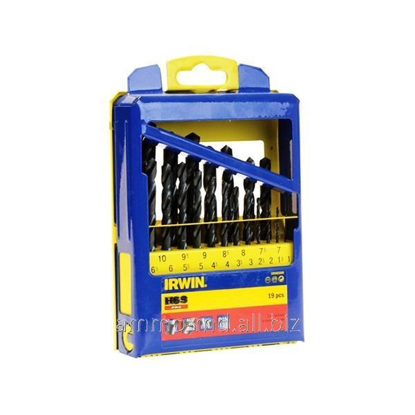 Buy Drills on HSS Irwin metal - the emb. 19 ave. (1.0-10.0mm) 10502500