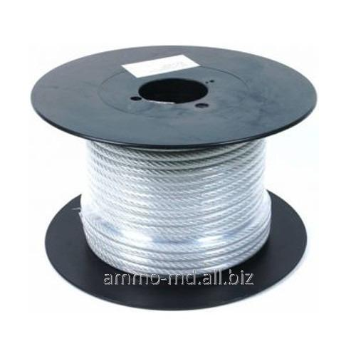 Buy Rope steel in a plastic cover of PVC 2mm/1,8mm 25500