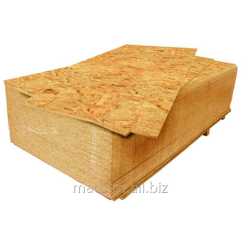 Buy OSB-3 plywood of 12 mm (2.5 m*1,25m), Article 49.26