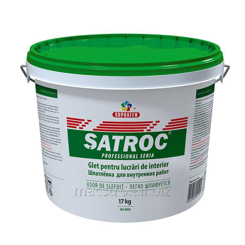 Buy Hard putty for internal works of Satroc of 17 kg the Article 15.601