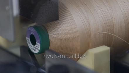 Нить из непрерывного полиэстерового волокна устойчива к истиранию, солнечному свету и слабым кислотам Coats Gral for Apparel