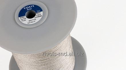 Шнуры из мультифиламентного непрерывного ПЭ волокна для орнаментных, декоративных швов Coats Brio