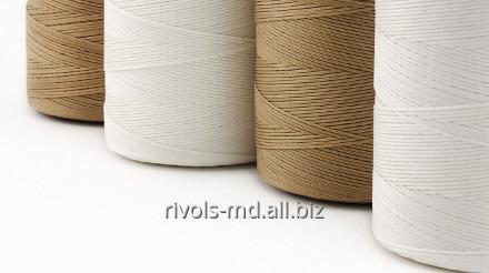 Шнур из комплексного ПЭ волокна для пошива изделий из мягких кож, обуви и джинсов Coats Corus