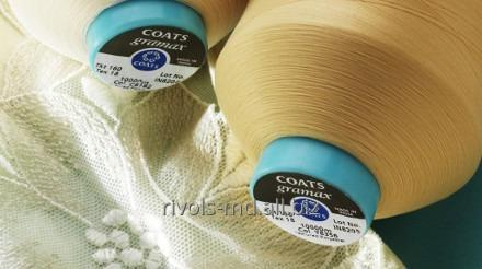 The textured polyester thread providing softness and comfort of Coats Gramax