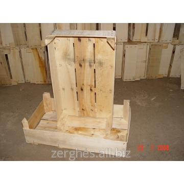 Buy Boxes wooden of natural wood (poplar) weight 450-480 gr.