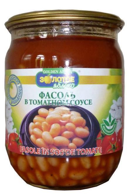 Купить Фасоль в томатном соусе