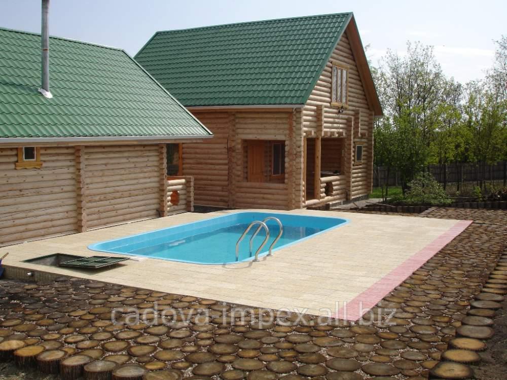 Купить Полипропиленовый бассейн стандартной формы