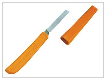 Купить Нож прививочный виноградный НПВ с футляром, пласт.ручка