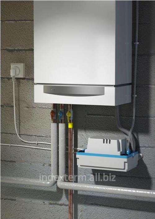Насос SANIFLO - SANICONDENS PLUS для откачивания конденсата из котлов, холодильников, бойлеров и кондиционеров
