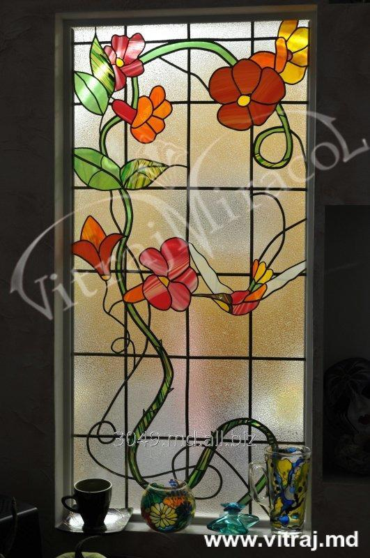 Buy Stained-glass windows in niches