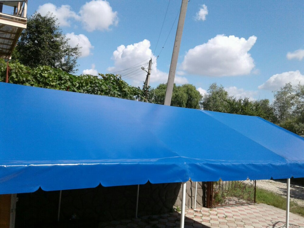 Печатная продукция Tent pentru terasa для машины