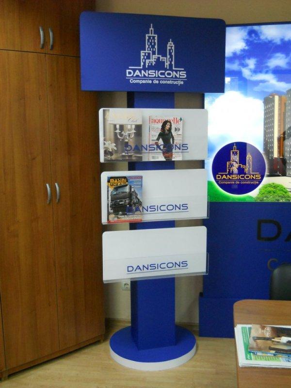 Печатная продукция Stand pentru ziare Dansicons