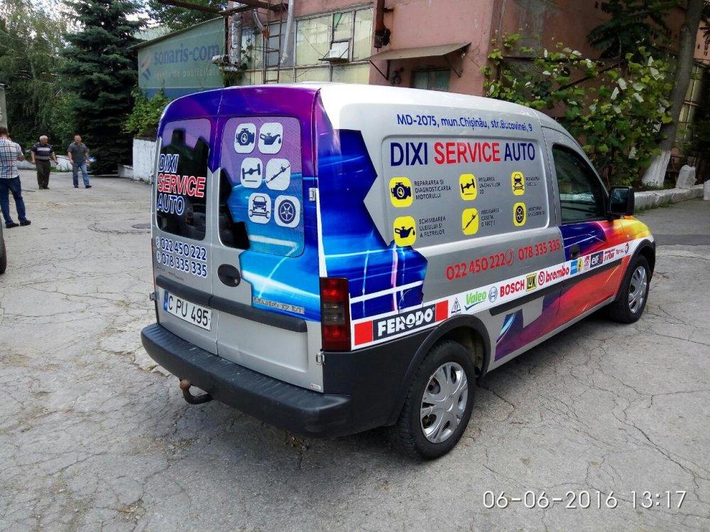 Печатная продукция Branding Automobilului DIXI