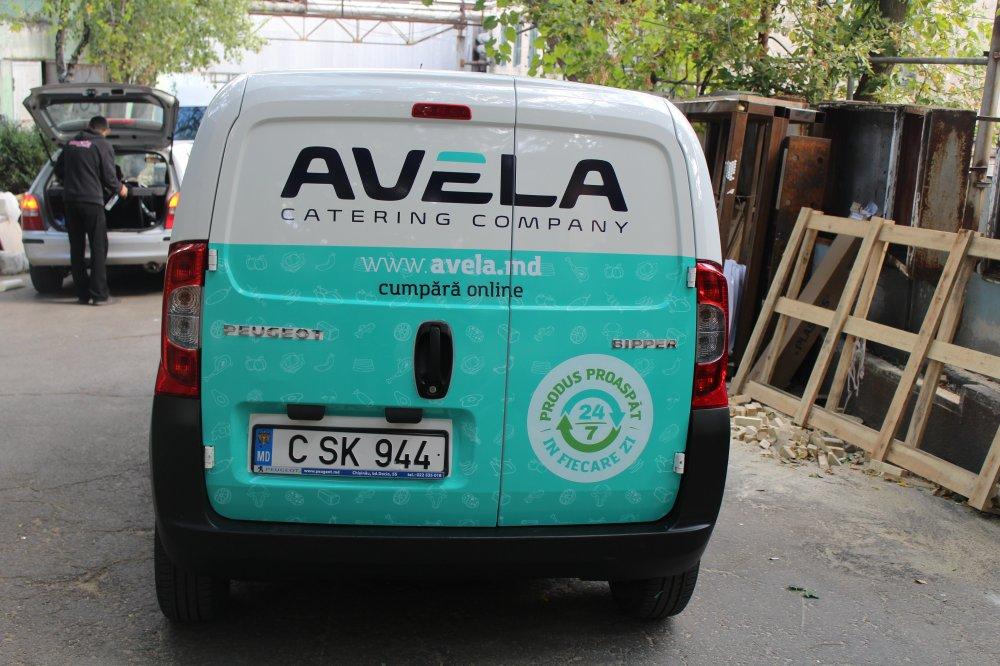 Печатная продукция Branding automobilului AVELA