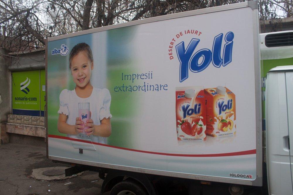 Печатная продукция Branding auto Yoli