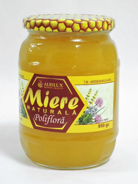 Купить Полифлерный мёд 950 грамм