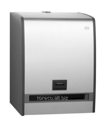 Купить Диспенсер сенсорный Tork Matic H1, 432х326х223, Алюминий серый Код: 459500