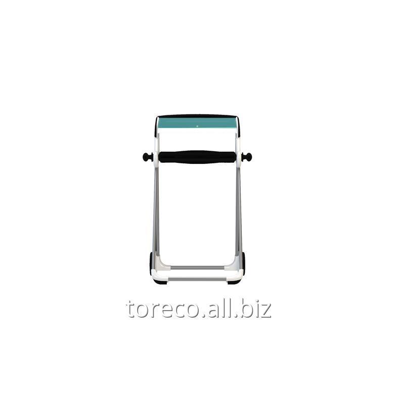 Купить Напольный диспенсер для материалов в рулоне Tork Performance, W1, 1006х646х530, Белый/голубой Код: 652000